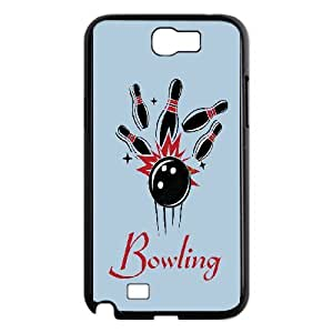 Custom Bowling Case Cover , Creative Designed For Samsung Galaxy Note 2
