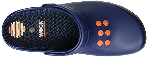 Wock Unisex Adults' Nube INKL. Einlage Clogs, Black Blau (Navy)
