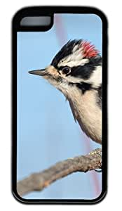 The Downy Woodpecker DIY Rubber Black Best Fashion iphone 5C Case