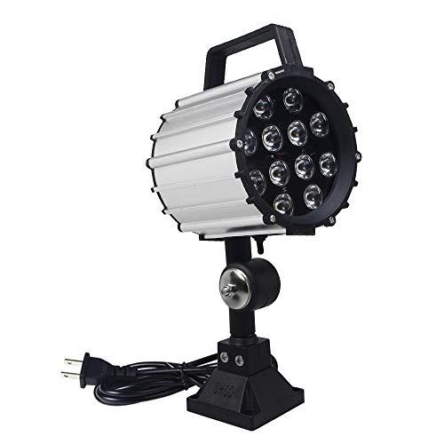 LED Work Light Adjustable Short arm Industrial Light, CNC milling Machine, Drilling Machine, Machine Tool Work Light
