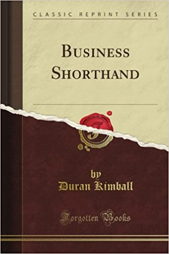 Business Shorthand (Classic Reprint)