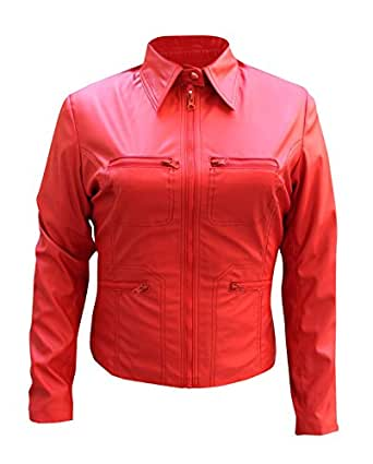Women's Emma Swan Once Upon A Time Red Jacket AMAZON (SMALL - For Bust 34'')