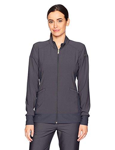 Zip Front Scrub Jacket - 6