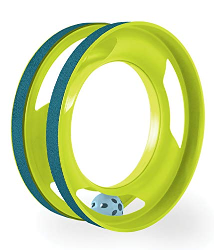 - Petstages Ring Track Roll & Chase Cat Track Toy