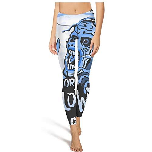 juiertj rt Long Hiking Halloween Zombie sneaks up Leggings Pretty Women Printed Workout Yoga Pants