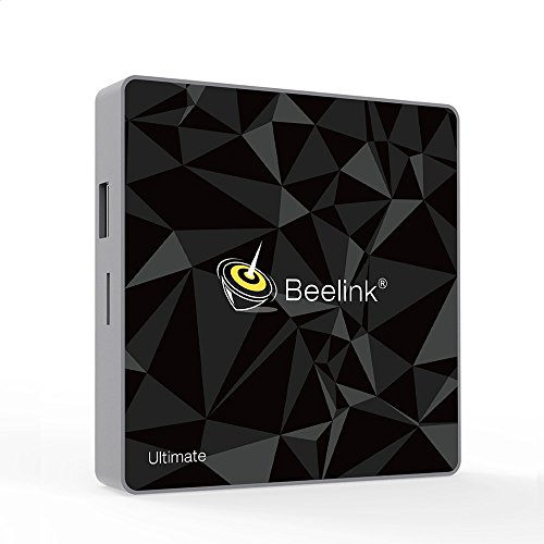Beelink GT1 Ultimate Android 7.1 TV Box 64 Bits DDR4 3GB eMMC 32GB with Amlogic S912 1000Mbps LAN/Dual WiFi 2.4G+5.8G/H.264/H.265 4K Android TV Box