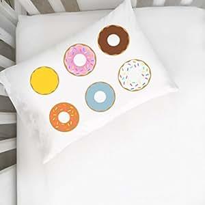 Oh, Susannah Donut Pillowcase - Cute Pillow Case (14x20 inch Pillowcase)