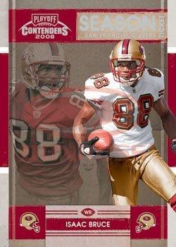2008 Playoff Contenders Season Tickets Football Card # 85 Isaac Bruce - San Francisco 49ers - NFL Trading Card