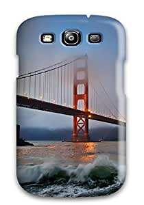 Juliam Beisel's Shop Ideal Case Cover For Galaxy S3(golden Gate Bridge), Protective Stylish Case
