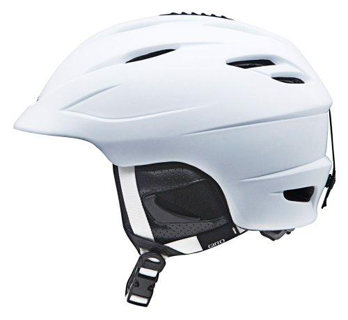 Giro Seam Snow Helmet (Matte White, Medium) (Giro Helmet Ski)