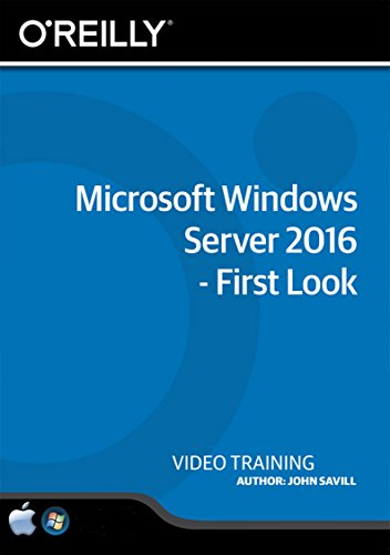 Microsoft Windows Server 2016 - First Look - Training DVD