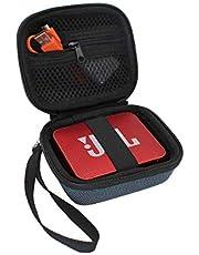 VIVENS harde reistas, beschermhoes voor JBL GO / GO2 Ultra draagbare Bluetooth-luidspreker