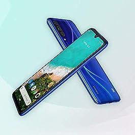 Xiaomi Mi A3 128GB + 4GB RAM, Triple Camera, 4G LTE Smartphone – International Global Version (Not just Blue)