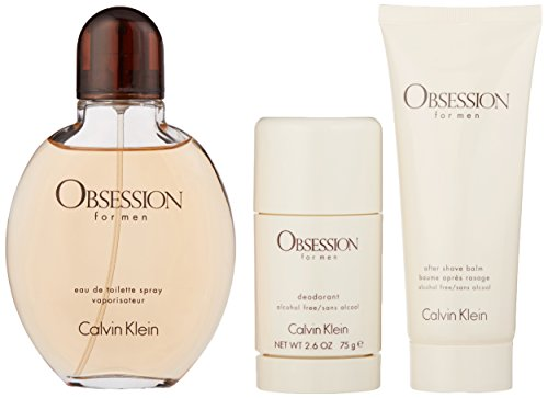 Calvin Klein 3 Piece Obsession Men's Gift Set