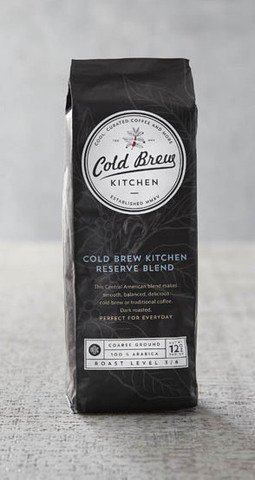 Cold Brew Kitchen Artisan Coarse Ground Cold Brew Coffee 12 oz Reserve Blend