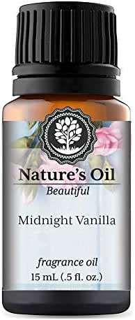 Midnight Vanilla Fragrance Oil (15ml) For Perfume, Diffusers, Soap Making, Candles, Lotion, Home Scents, Linen Spray, Bath Bombs, Slime