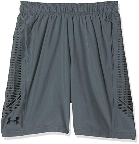 Under Armour Men's Woven Graphic Shorts, Pitch Gray