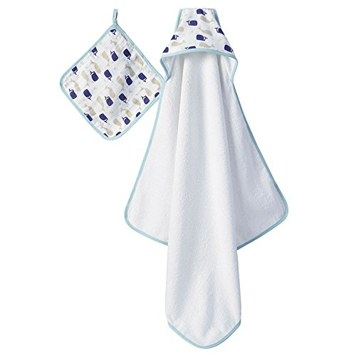 aden anais hooded towel washcloth