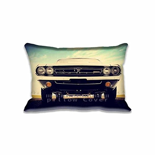 Decor Pillow Case Cushion Cover Motors and Dodge Challenger 1971 RT Wallpaper by Rick Souza Design , Bedding and Living Room Dodge Challenger 1971 RT Wallpaper by Rick Souza Diy Pillowcase Crafts , Two Side 16