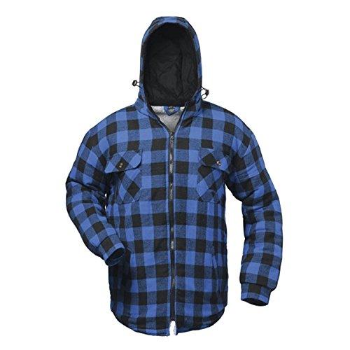 Craftland - Sandalias deportivas de algodón para hombre azul y negro Blau/Schwarz
