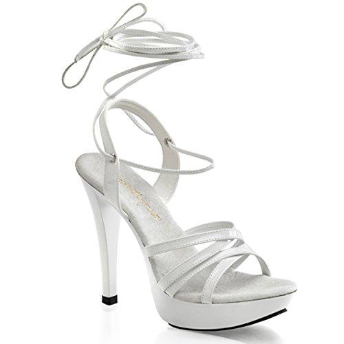 Heels-Perfect - Sandalias de vestir de material sintético para mujer blanco - Weiss (weiß)