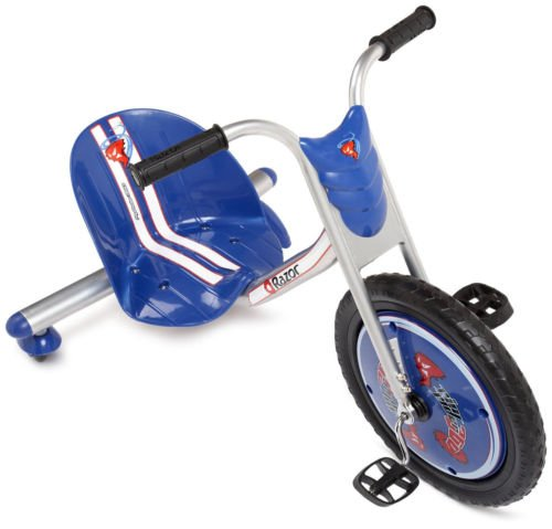 NEW! Razor Rip-Rider 360 Drifting Ride-On Tricycle Bike Trike Kid's Ride On BLUE (Hpi Dodge Ram)