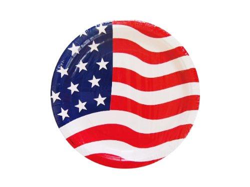 48 USA Party Plates]()