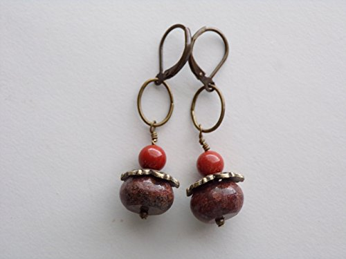 Jasper Earrings - 4