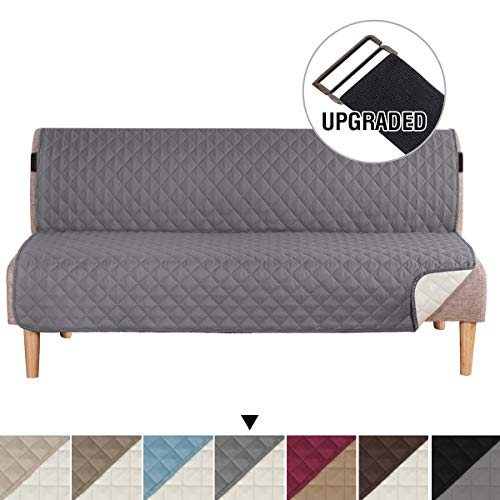 H.VERSAILTEX Futon Sofa Slipcover Reversible Sofa Cover Furniture Protector for Living Room, Seat Width Up to 70