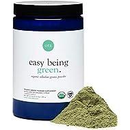 Ora Organic Greens Powder - All Natural Vegan, Gluten-Free, Organic Supplement Drink for Energy and Detox - Antioxidants & Adaptogenic Herbs - 20+ Super Greens Blend - 30 Servings, Citrus Flavor