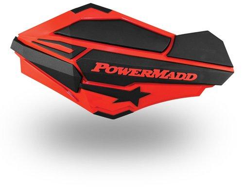 - PowerMadd 34402 Red/Black Sentinel Handguard