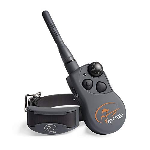 SportDOG Brand SD-825X SportHunter 825X Remote Trainer - Rechargeable Dog Training Collar with Shock, Vibrate, and Tone - 1/2 Mile Range, gray, ½ Mile Range - 3 Dog Expandability