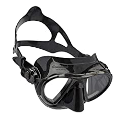 """""""The Nano is for advanced divers, freediving and spearfishing lovers, designed to offer an extremely hydrodynamic and compact shape to help divers cut through the water and aid movements in small spaces. For develop the Nano mask Cressi inven..."""