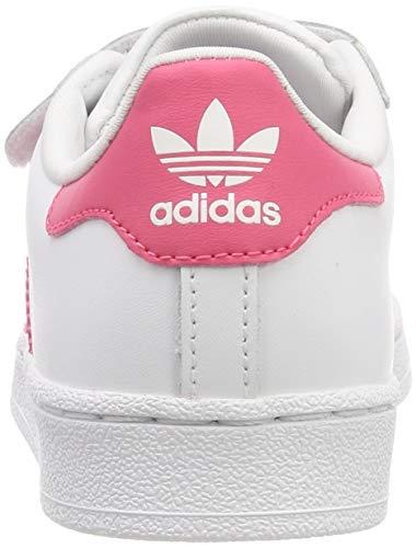 ftwr Blanco Pink clear Niños Cf Pink Ftwr Superstar clear White Adidas Gimnasia Zapatillas Unisex De Pink C g8pwz7q8