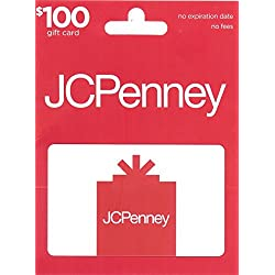 JCPenney Gift Card $100
