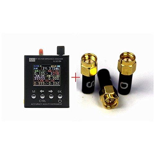 English verison N1201SA 140MHz-2.7GHz UV RF Vector Impedance ANT SWR Antenna Analyzer Meter Tester 140MHz - 2.7GHz