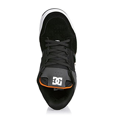 DC SCARPE RIVAL GREY ORANGE UOMO-43