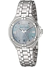 Womens Aikon Quartz Stainless Steel Casual Watch, Color:Silver-Toned (Model. Maurice Lacroix