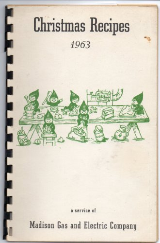 Christmas Recipes 1963