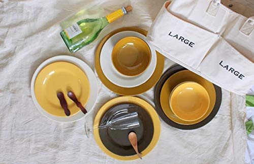 Bowla 12-Piece Melamine Dinnerware Set – Service for 4 (Autumn)