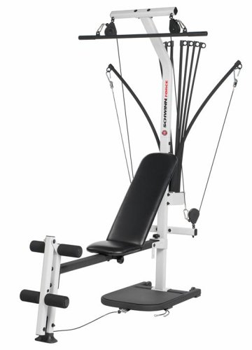 amazon com schwinn force home gym by bowflex sports outdoors rh amazon com Schwinn Comp Home Gym Manual Schwinn Comp Bowflex Home Gym