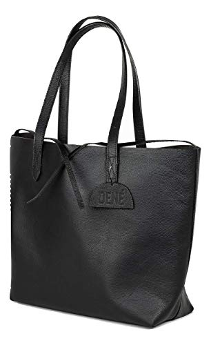 Leather Tote Bag for Women. Made with Genuine Leather. This Large Tote Is The Perfect Work or Travel Bag.