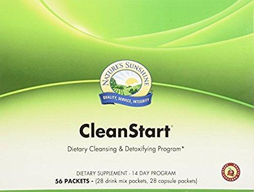 Nature's Sunshine CleanStart Apple/Cinnamon (56 Packets/14 Day Supply)