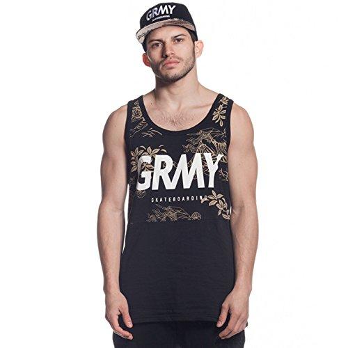 Grimey Camiseta Tirantes Hunter GRMY Tank Top SS16 Black: Amazon.es: Ropa y accesorios