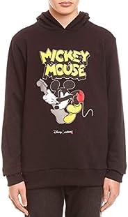 Blusa de moletom Com Capuz Disney: Mickey Mouse Rock N' Roll, Colcci Fun, Men