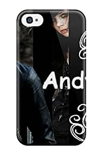 Craigmmons LwsnyHJ10tuLii Case For Iphone 4/4s With Nice Awesome Andy Black Veil Brides Appearance