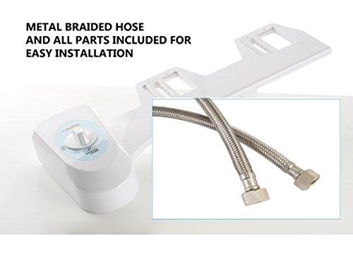 Astor Bidet Fresh Water Spray Non Electric Mechanical Bidet Toilet Seat