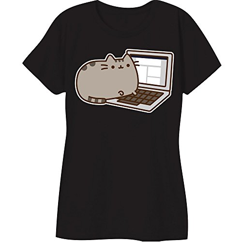 Pusheen The Cat Laptop Juniors T-Shirt