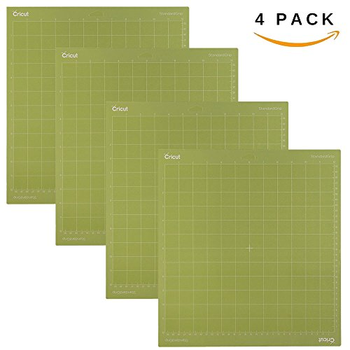 Cricut 12x12 Standardgrip Adhesive Cutting Mats | 4 Pack by Cricut