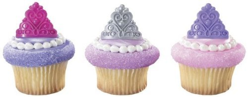 Fairytale Princess Crown Cupcake Topper product image
